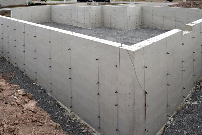 Preeceville Redi-mix Concrete Basement Foundation
